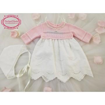 vestido infantil foque