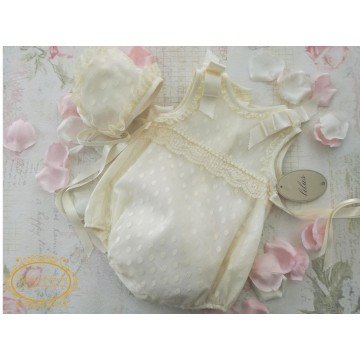 pelele infantil bautizo lilus