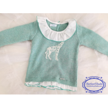 jersey  infantil jirafa
