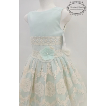 vestido infantil ceremonia loan bor