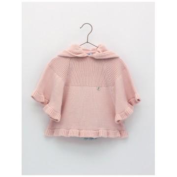 poncho rosa foque