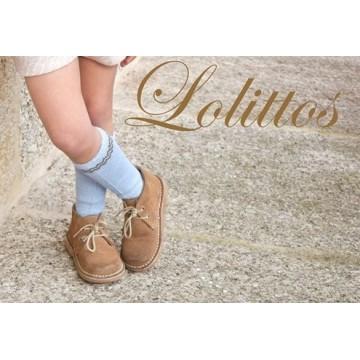 calceta azul espinete lolittos