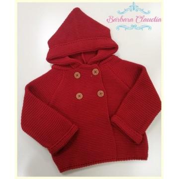 abrigo punto rojo  yoedu