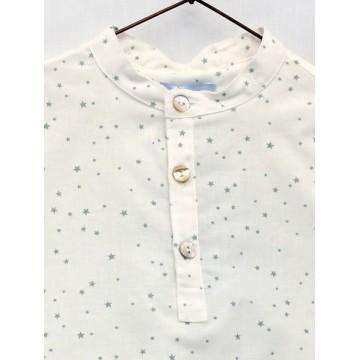 camisa estrellas celeste foque