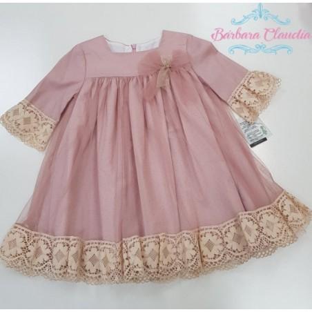 vestido rosa klimt
