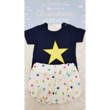 Conjunto niño bebé estrellas