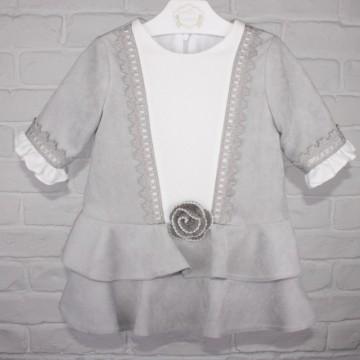 vestido infantil lirio marta y paula